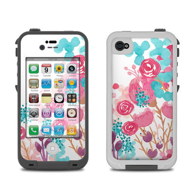 Lifeproof iPhone 4 Case Skin - Blush Blossoms