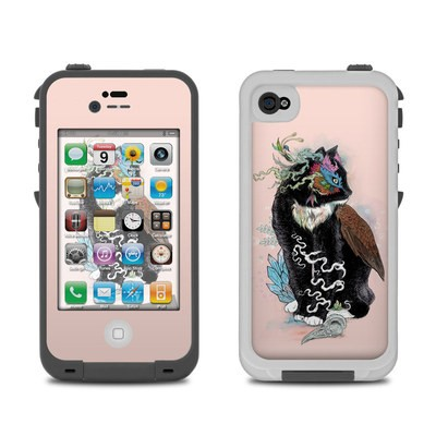 Lifeproof iPhone 4 Case Skin - Black Magic