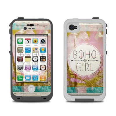 Lifeproof iPhone 4 Case Skin - Boho Girl