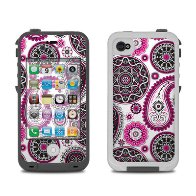 Lifeproof iPhone 4 Case Skin - Boho Girl Paisley