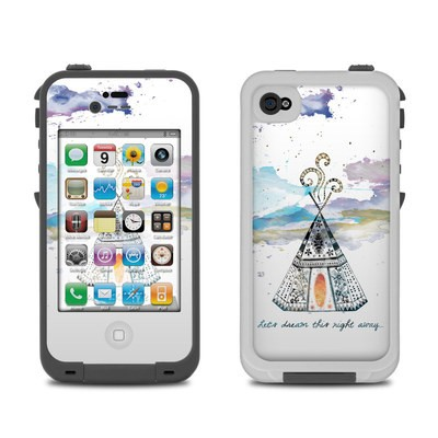 Lifeproof iPhone 4 Case Skin - Boho Teepee
