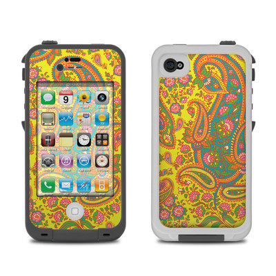 Lifeproof iPhone 4 Case Skin - Bombay Chartreuse