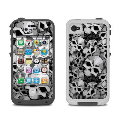 Lifeproof iPhone 4 Case Skin - Bones
