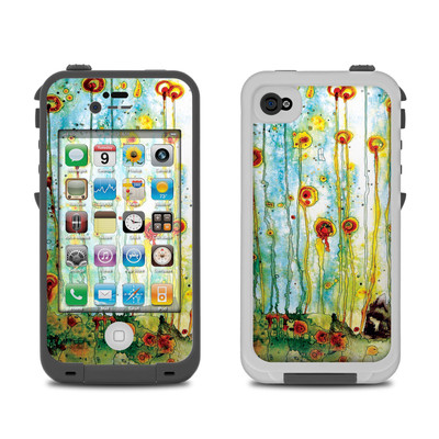 Lifeproof iPhone 4 Case Skin - Beneath The Surface