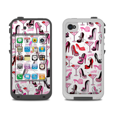 Lifeproof iPhone 4 Case Skin - Burly Q Shoes
