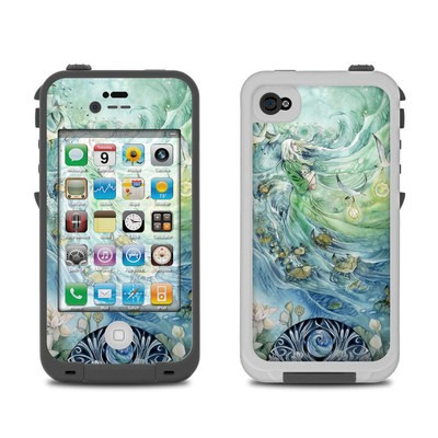 Lifeproof iPhone 4 Case Skin - Cancer