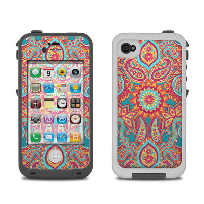 Lifeproof iPhone 4 Case Skin - Carnival Paisley