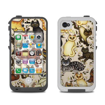 Lifeproof iPhone 4 Case Skin - Cats