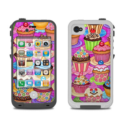 Lifeproof iPhone 4 Case Skin - Cupcake
