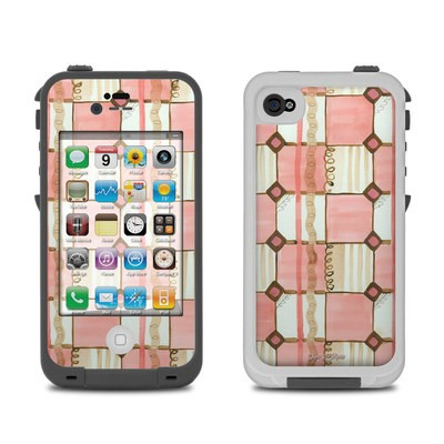 Lifeproof iPhone 4 Case Skin - Chic Check