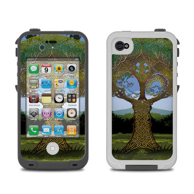Lifeproof iPhone 4 Case Skin - Celtic Tree