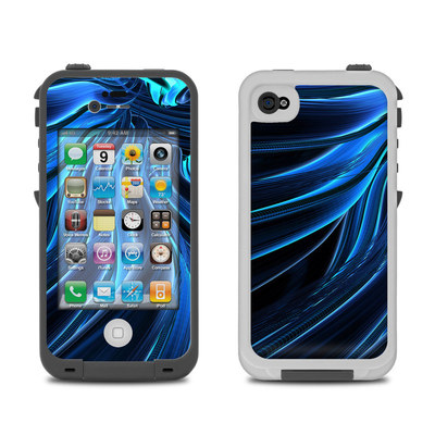 Lifeproof iPhone 4 Case Skin - Cerulean
