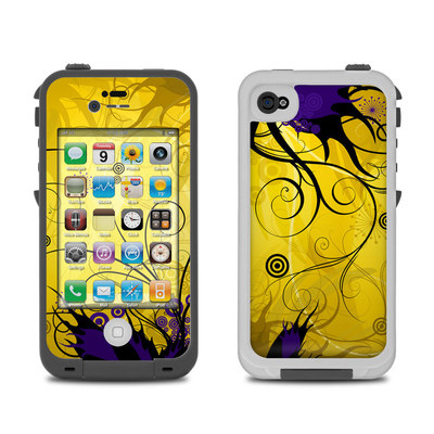 Lifeproof iPhone 4 Case Skin - Chaotic Land