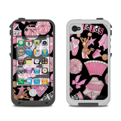 Lifeproof iPhone 4 Case Skin - Cheerleader