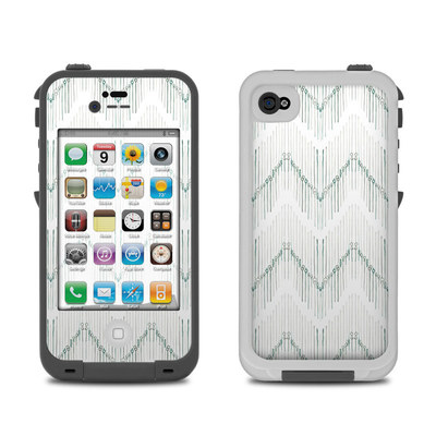 Lifeproof iPhone 4 Case Skin - Chic Chevron