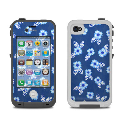 Lifeproof iPhone 4 Case Skin - China Blue