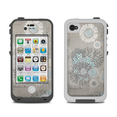 Lifeproof iPhone 4 Case Skin - Christmas In Paris