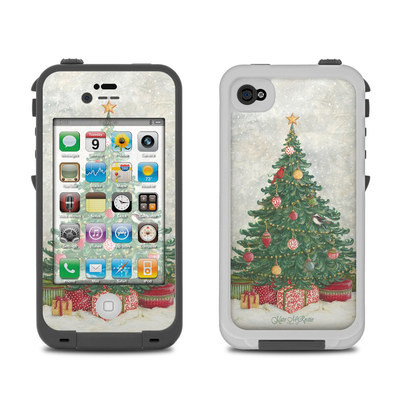 Lifeproof iPhone 4 Case Skin - Christmas Wonderland