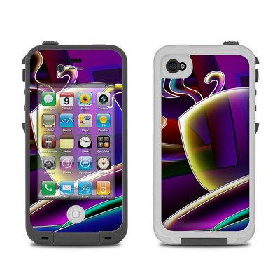 Lifeproof iPhone 4 Case Skin - Coffee Break