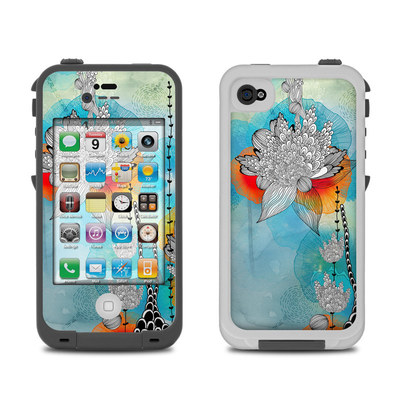 Lifeproof iPhone 4 Case Skin - Coral