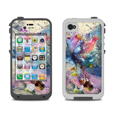 Lifeproof iPhone 4 Case Skin - Cosmic Flower