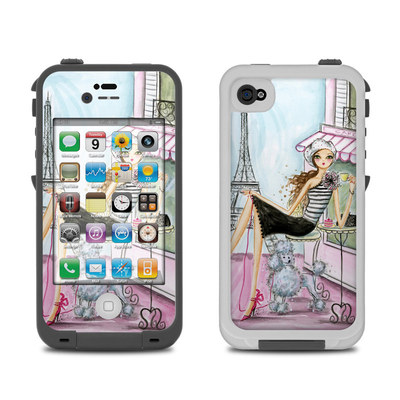 Lifeproof iPhone 4 Case Skin - Cafe Paris