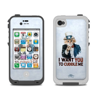 Lifeproof iPhone 4 Case Skin - Cuddle Me