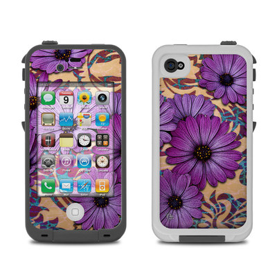 Lifeproof iPhone 4 Case Skin - Daisy Damask