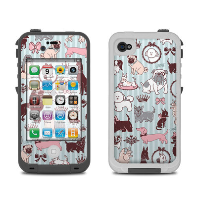 Lifeproof iPhone 4 Case Skin - Doggy Boudoir