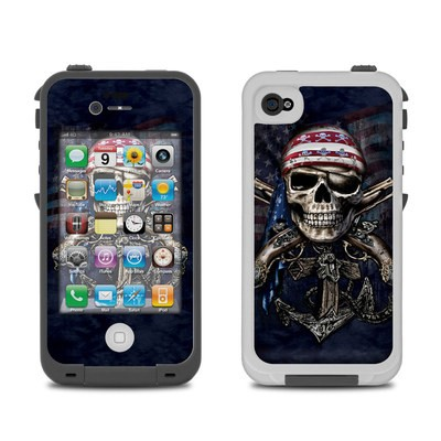 Lifeproof iPhone 4 Case Skin - Dead Anchor