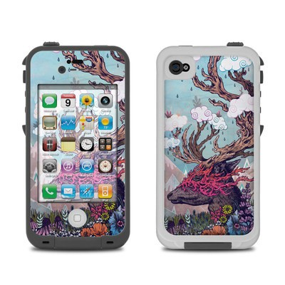 Lifeproof iPhone 4 Case Skin - Deer Spirit