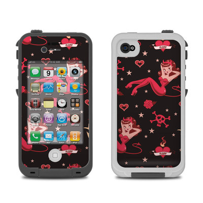 Lifeproof iPhone 4 Case Skin - Devilette
