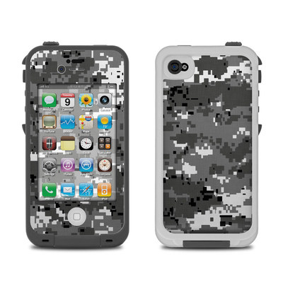 Lifeproof iPhone 4 Case Skin - Digital Urban Camo