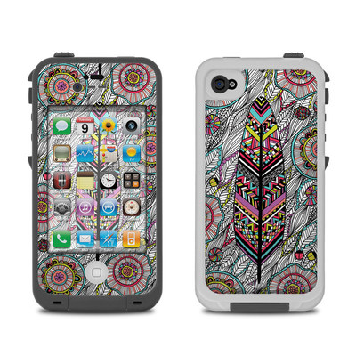 Lifeproof iPhone 4 Case Skin - Dream Feather