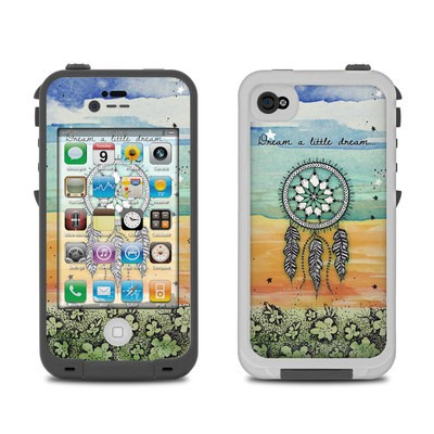 Lifeproof iPhone 4 Case Skin - Dream A Little