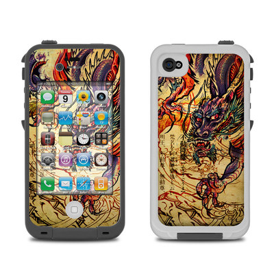 Lifeproof iPhone 4 Case Skin - Dragon Legend