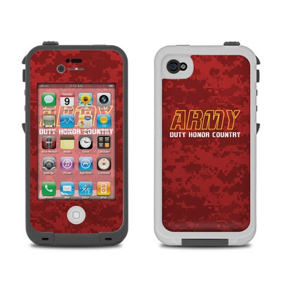 Lifeproof iPhone 4 Case Skin - Duty and Honor