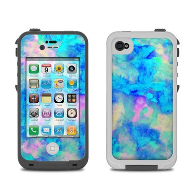 Lifeproof iPhone 4 Case Skin - Electrify Ice Blue