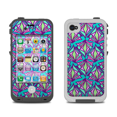 Lifeproof iPhone 4 Case Skin - Fly Away Teal