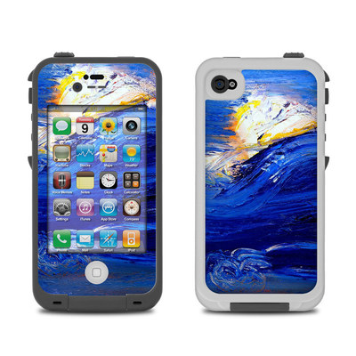 Lifeproof iPhone 4 Case Skin - Feeling Blue
