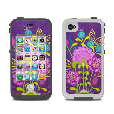 Lifeproof iPhone 4 Case Skin - Floral Bouquet