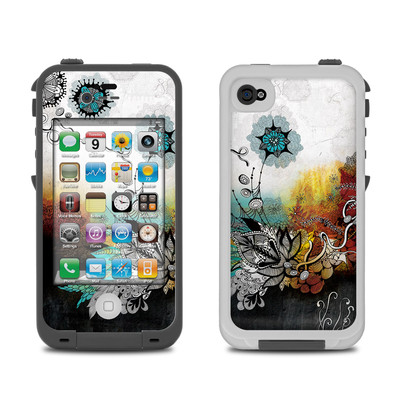 Lifeproof iPhone 4 Case Skin - Frozen Dreams
