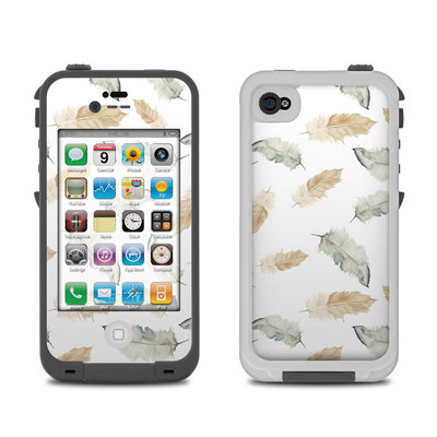 Lifeproof iPhone 4 Case Skin - Feathers