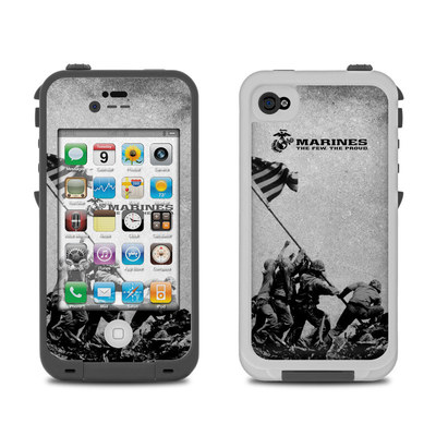 Lifeproof iPhone 4 Case Skin - Flag Raise