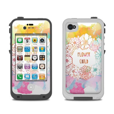 Lifeproof iPhone 4 Case Skin - Flower Child