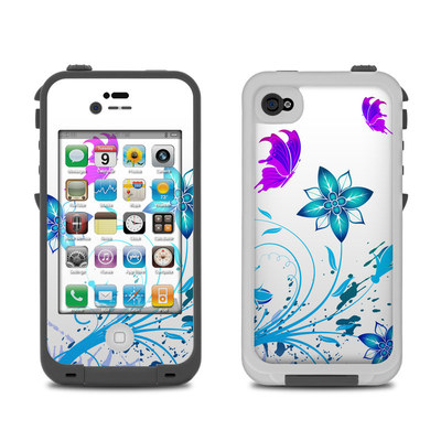 Lifeproof iPhone 4 Case Skin - Flutter