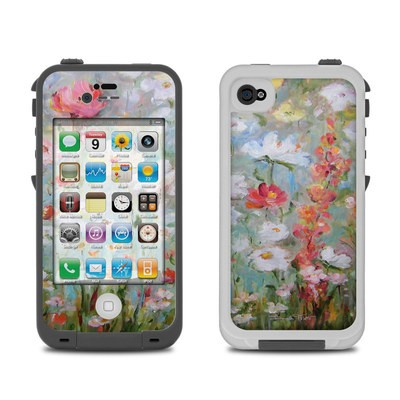 Lifeproof iPhone 4 Case Skin - Flower Blooms