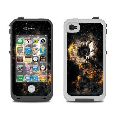 Lifeproof iPhone 4 Case Skin - Flower Fury