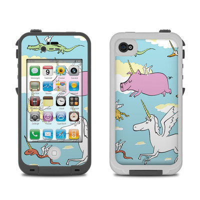 Lifeproof iPhone 4 Case Skin - Fly