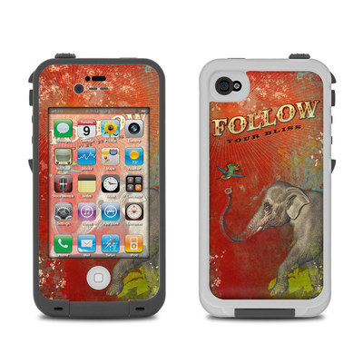 Lifeproof iPhone 4 Case Skin - Follow Your Bliss